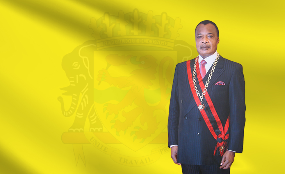 Denis Sassou Nguesso Président de la République du Congo