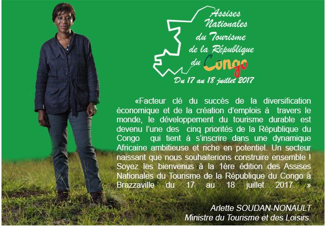 Assises Nationales du Tourisme de la République du Congo-Brazzaville du 17 au 18 juillet 2017