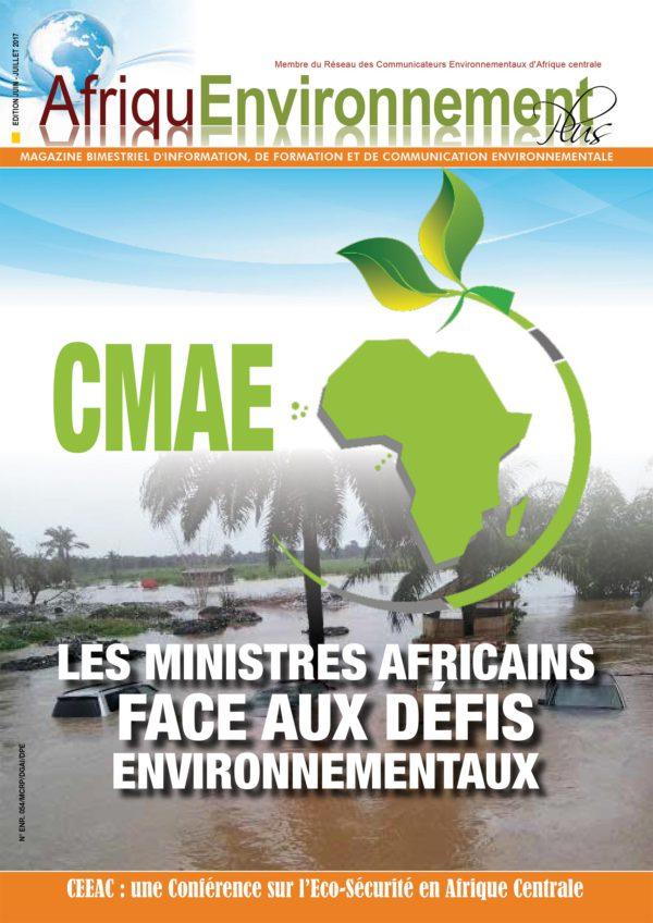 Magazine AfriquEnvironnement  -Numéro Juin – Juillet 2017